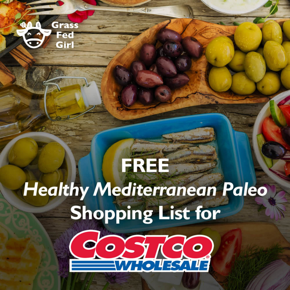 Costco Shopping List for Healthy Recipes - healthy recipes list