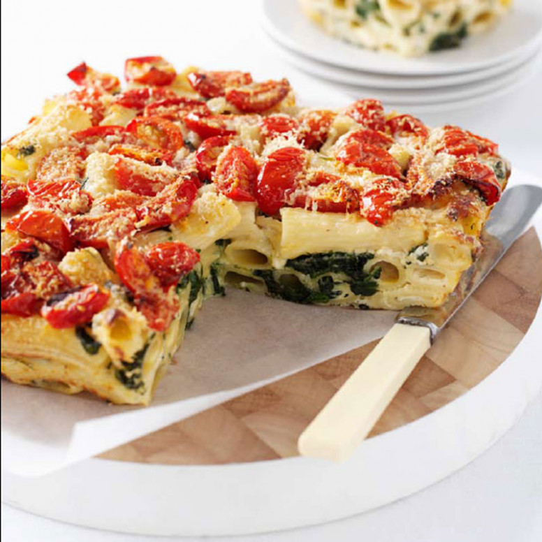 Cottage Cheese And Spinach Pasta Bake | Healthy Recipe ..