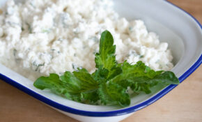 Cottage Cheese With Mint / Kodujuust Mündiga – Georgian Food Recipes