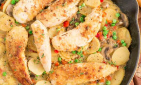 Country Chicken And Vegetable Skillet – Skillet Recipes Chicken