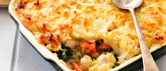 Country Chicken Cottage Pie | Food in a Minute - recipes nz chicken