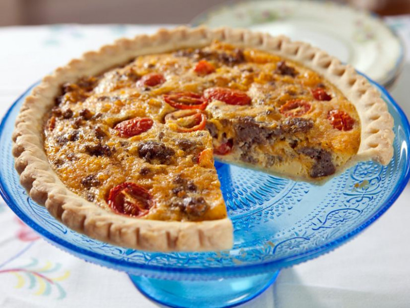 Country Quiche Recipe | Trisha Yearwood | Food Network - food network trisha yearwood recipes