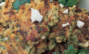 Courgette And Potato Cakes With Mint And Feta Cheese – Mint Recipes Vegetarian