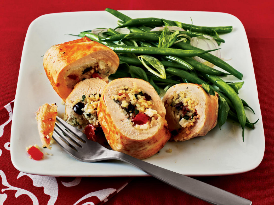 Couscous Stuffed Chicken Recipe - Cooking Light - Recipes Light Food