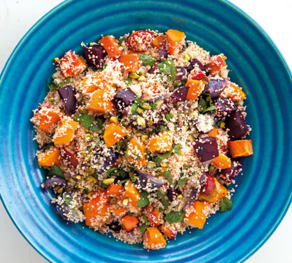 Couscous With Roasted Vegetables - Annabel Langbein – Recipes - Recipes Couscous Vegetarian