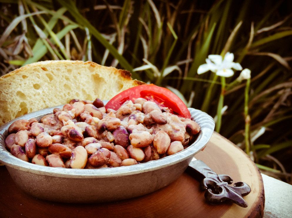 Cowboy Baked Beans - chicken recipes cast iron