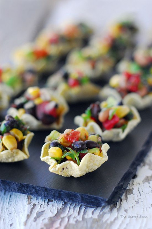 Cowboy Caviar Cups ~ An Easy Appetizer Recipe That Is Full ..