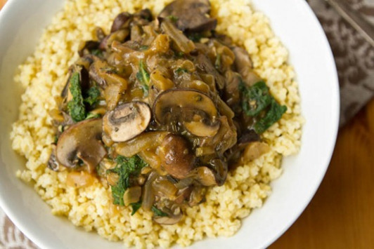 Cozy Millet Bowl with Mushroom Gravy and Kale — Oh She Glows - millet recipes vegetarian
