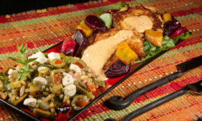 Crab Cakes, Roasted Beets And Grilled Vegetable Harvest Grains Blend – Food Network Zucchini Recipes