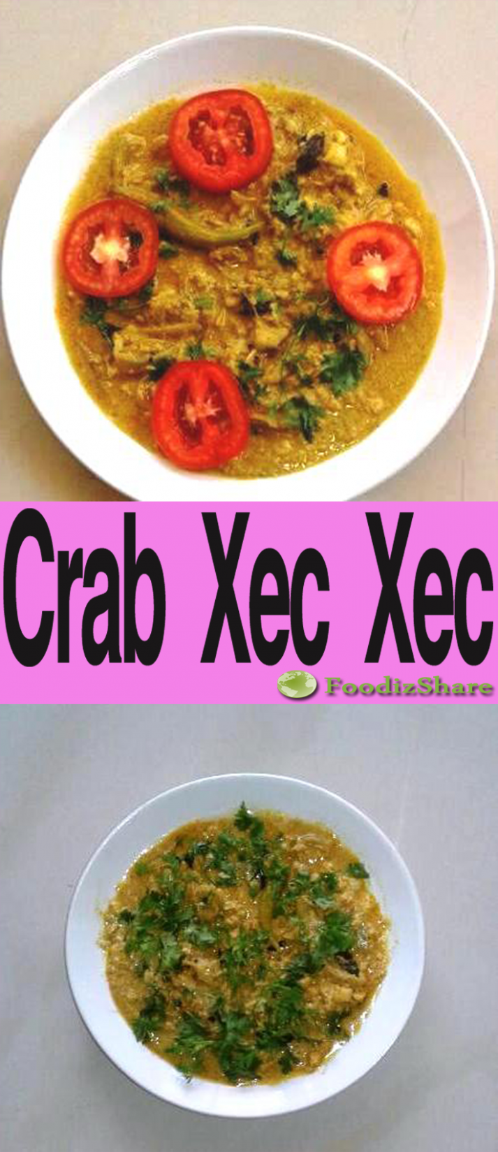 Crab Xec Xec Is A Traditional Goan Crab Curry. This Recipe ..