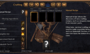 Crafting – Official Outward Wiki – Outward Food Recipes