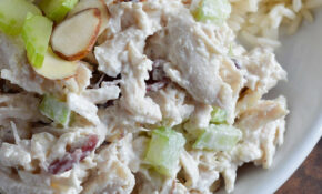 Cranberry Almond Chicken Salad Recipe – WonkyWonderful – Salad Recipes Chicken