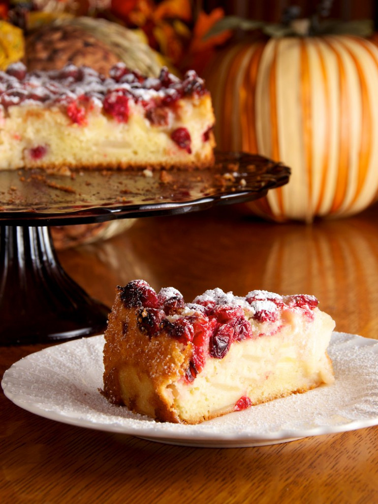 Cranberry Apple Breton Cake - Recipes Natural Food