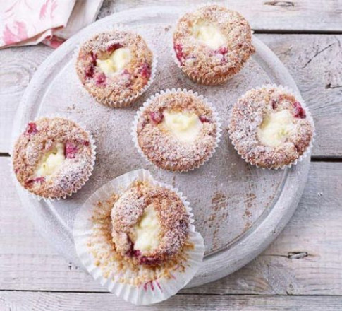 Cranberry & cream cheese muffins recipe | BBC Good Food - healthy recipes bbc