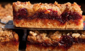 Cranberry Shortbread Bars With Almond Streusel Recipe ..