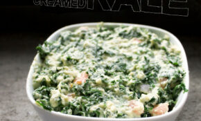 Creamed Kale [vegan] | Quiche A Week – Kale Recipes Vegetarian