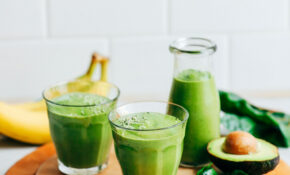 Creamy Avocado Banana Green Smoothie – Healthy Recipes Using Bananas
