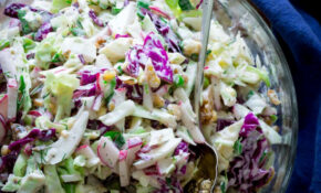 Creamy Blue Cheese And Walnut Coleslaw – Healthy Seasonal ..