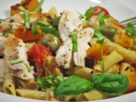 Creamy Chicken And Pumpkin Pasta Ww) Recipe - Food