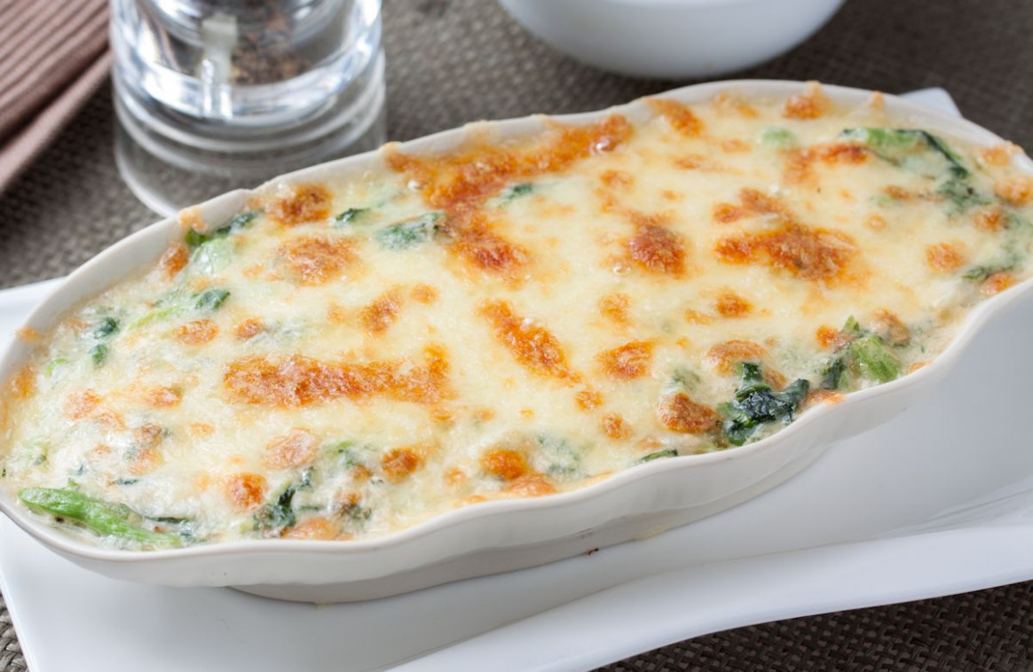 Creamy Chicken and Spinach Bake - baked recipes dinner