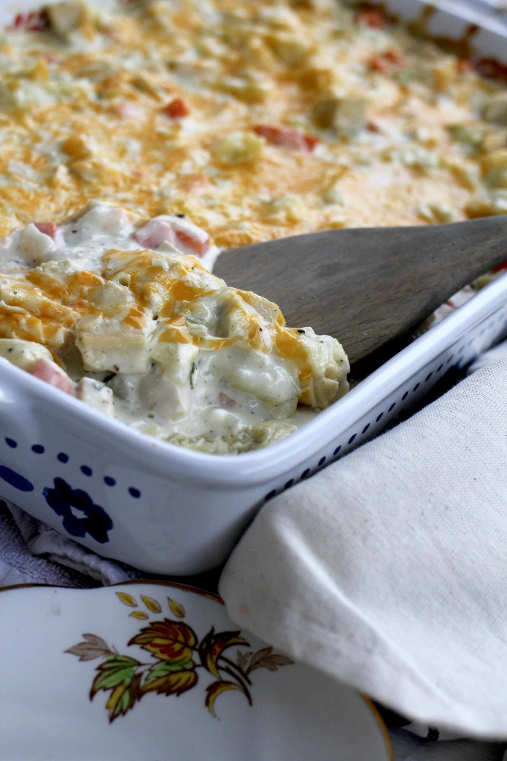 Creamy Chicken Casserole/Cream Cheese Chicken Casserole - chicken recipes with cream cheese