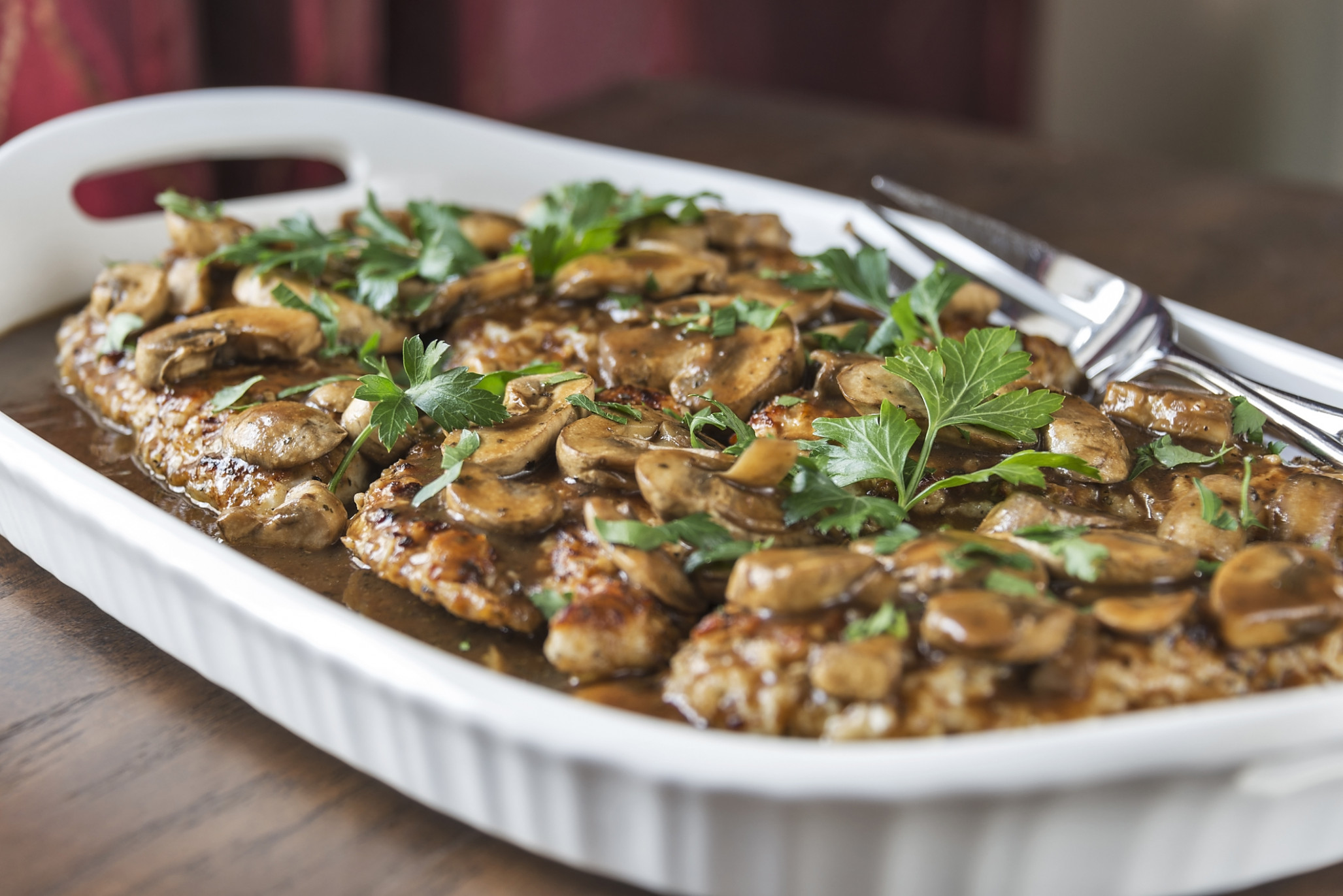 Creamy Chicken Marsala - chicken recipes marsala
