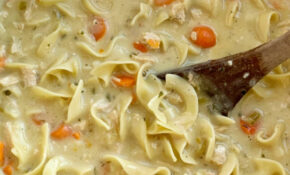 Creamy Chicken Noodle Soup – Recipes That Use Chicken Broth