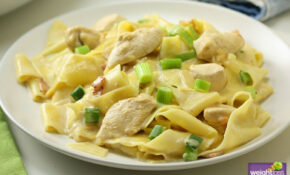 Creamy Chicken Pappardelle | Weightloss.com