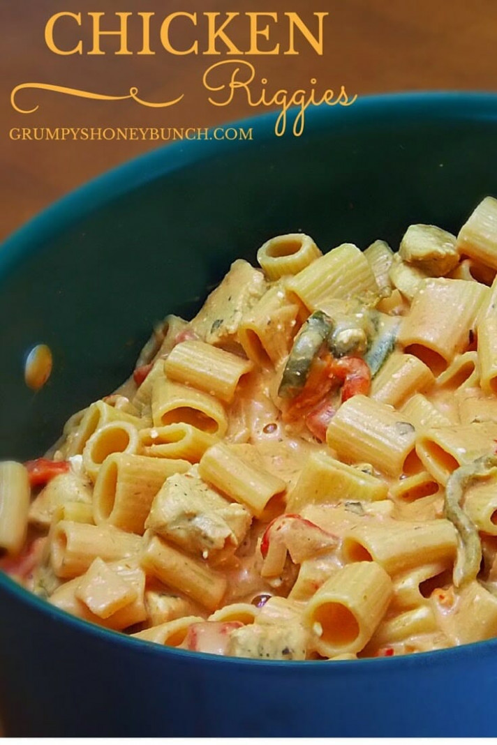 Creamy Chicken Riggies - A Utica New York Specialty ..