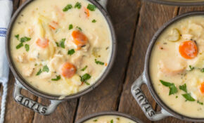 Creamy Chicken Soup – Best Homemade Chicken Vegetable Soup Recipes