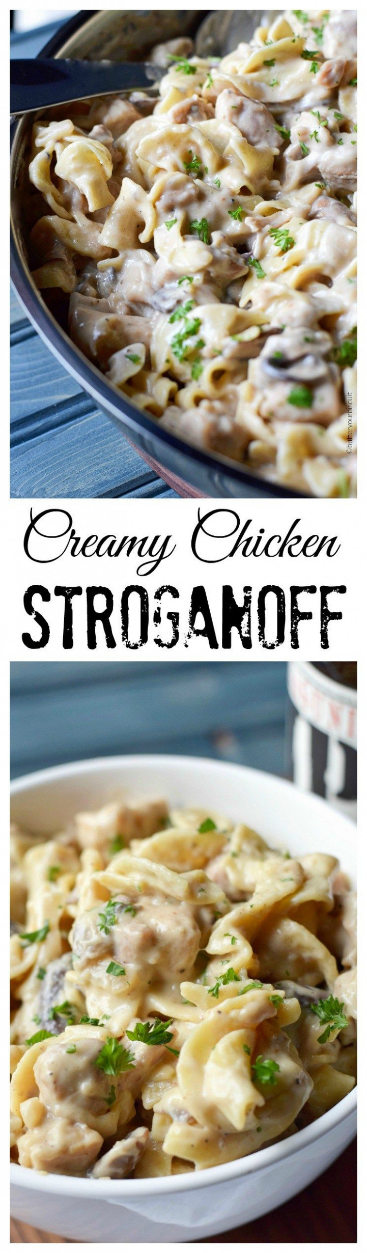Creamy Chicken Stroganoff | Recipe | Recipes | Chicken ..