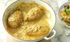 Creamy Dijon Chicken Recipe | Taste Of Home – Chicken Recipes Taste