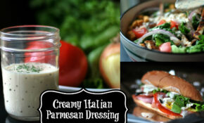 Creamy Italian Salad Dressing – Aunt Bee's Recipes – Chicken Recipes With Pictures Pdf