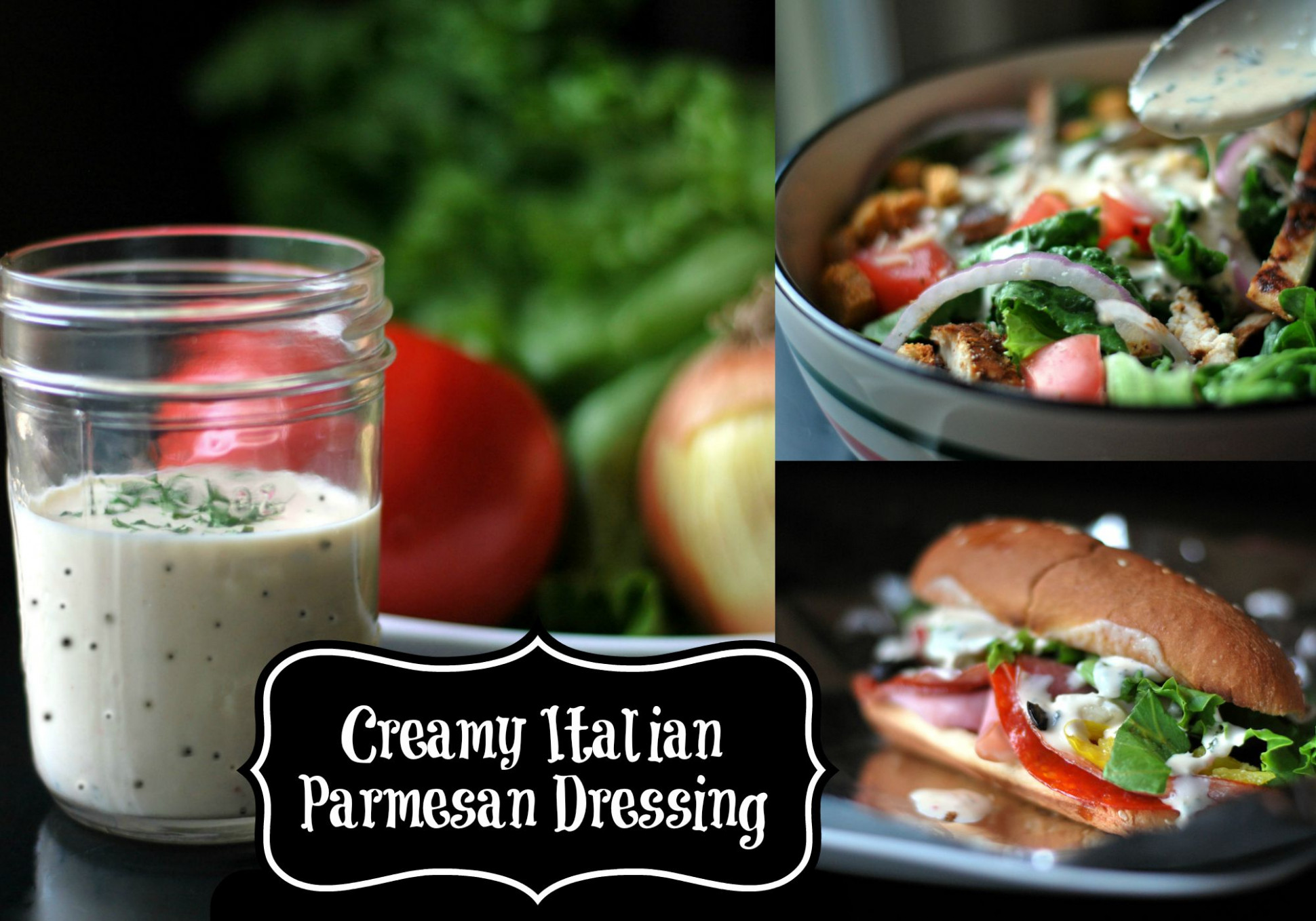Creamy Italian Salad Dressing - Aunt Bee's Recipes - chicken recipes with pictures pdf
