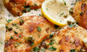 Creamy Lemon Parmesan Chicken Piccata (WITH VIDEO) – Cafe ..