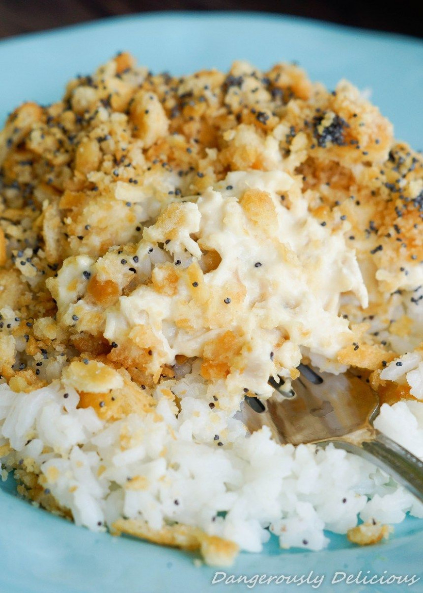 Creamy Poppyseed Chicken & Rice | FOOD i probably can't ..