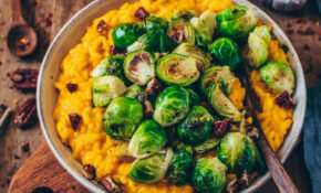 Creamy Pumpkin Risotto With Brussels Sprouts (vegan, Gluten Free, Easy) – Healthy Risotto Recipes