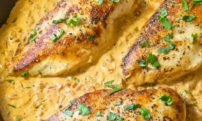 Creamy Roasted Red Pepper Chicken Skillet Recipe – An Easy ..