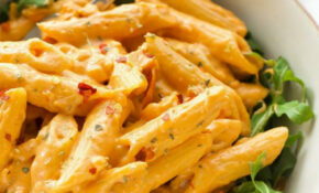 Creamy Spicy Sun Dried Tomato Pasta – Creamy Pasta Recipes Vegetarian