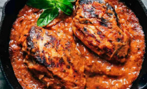 Creamy Tomato Basil Chicken – Chicken Recipes With Tomatoes