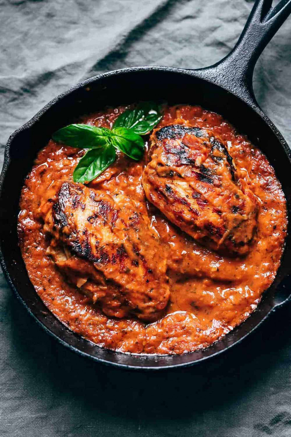 Creamy Tomato Basil Chicken - chicken recipes with tomatoes