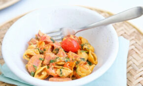 Creamy Tomato Pasta Half 10 – Make Healthy Easy – Jenna ..