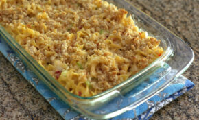 Creamy Turkey Noodle Casserole Recipe – Chicken Noodle Casserole Recipes