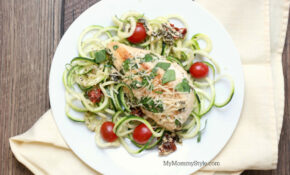 Creamy Tuscan Garlic Chicken Lean & Green With Zoodles ..