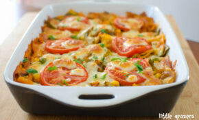 Creamy Vegetable Pasta Bake | Little Grazers – Creamy Pasta Recipes Vegetarian