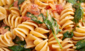 Cremige Spinat Tomaten Nudeln – Healthy Recipes Pasta