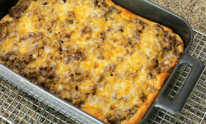 Crescent Beef Stroganoff Bake – Crescent Roll Recipes Dinner
