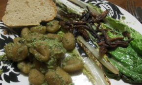 Crisp Gnocchi Grilled Romaine And Bread – Recipes With Gnocchi Vegetarian