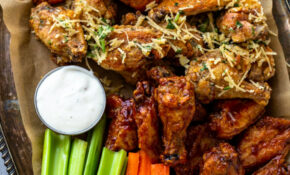 Crispy Air Fryer Chicken Wings (10 Ways!) | Gimme Delicious – Recipes Dinner Air Fryer