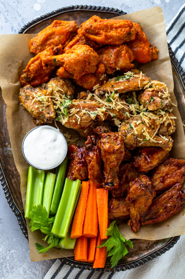 Crispy Air Fryer Chicken Wings (10 Ways!) | Gimme Delicious - recipes dinner air fryer